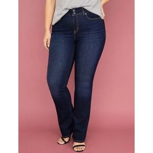 LANE BRYANT Tighter-tummy High Rise Boot Jeans-16